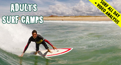 adult intensive surf camp