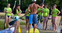 Stand up paddle capbreton