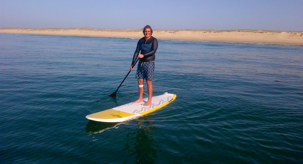 stand up paddle course hossegor
