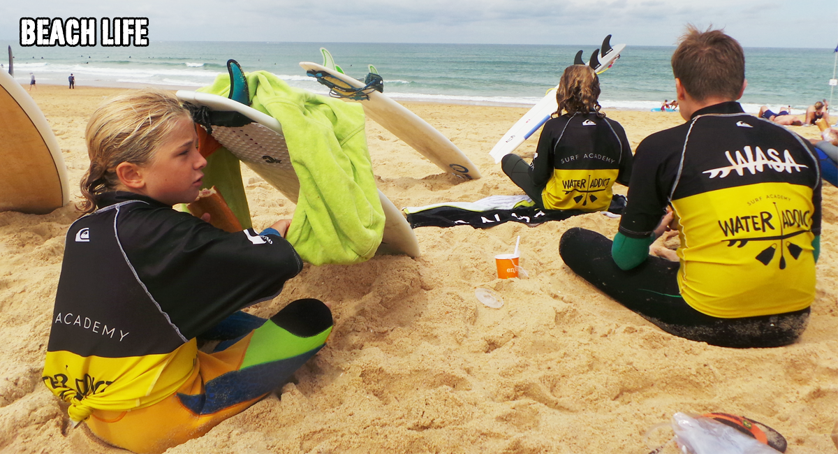training camp surf capbreton