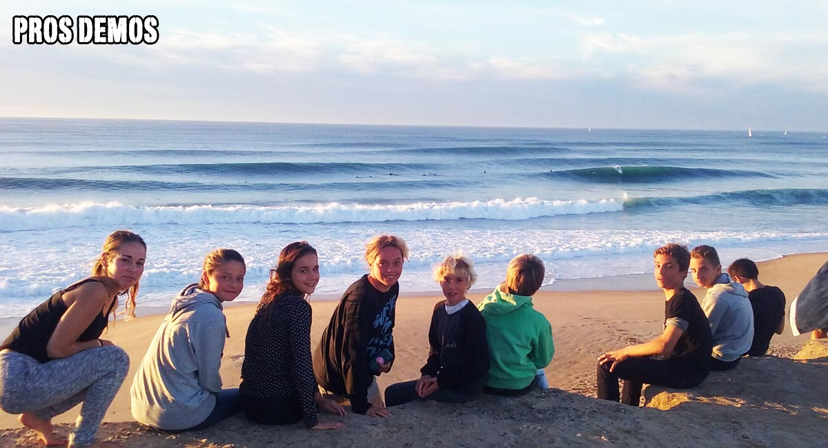 family surf camp Hossegor