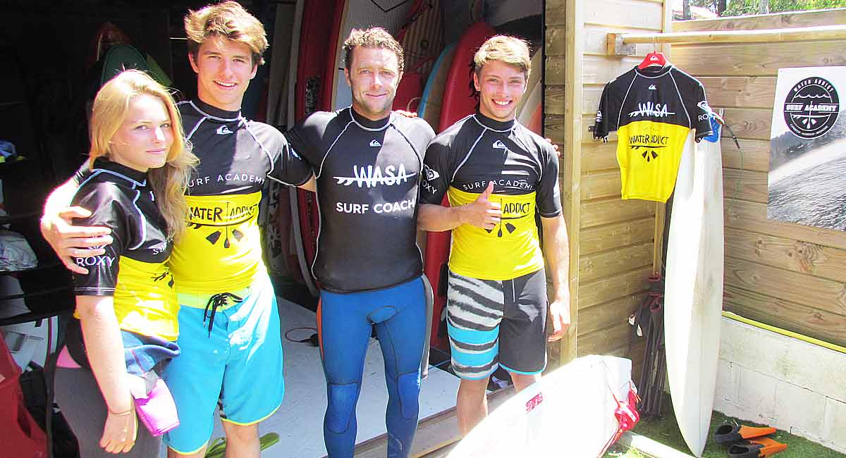 intensive surf camp capbreton