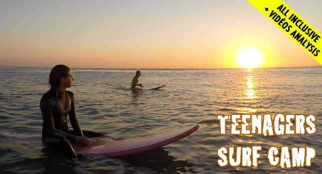 Teenagers Surf Camps Hossegor